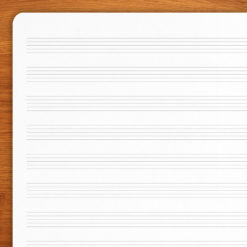 Pentagrama - 2 cuadernos A5