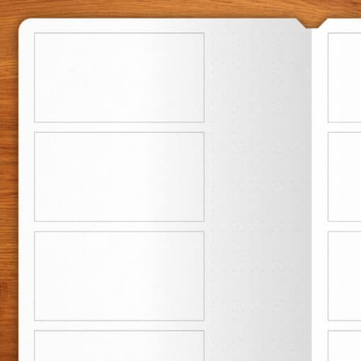Storyboard - 2 booklets A5