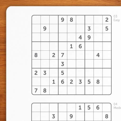 Sudokus - 2 cuadernos B6