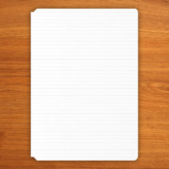 Lined booklets - B6